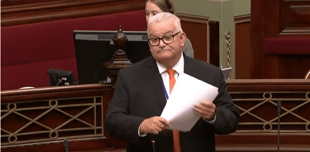 Rod's Maiden Speech – Unfinished Business