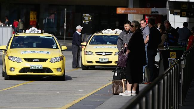 Melbourne Airport Taxi Rank