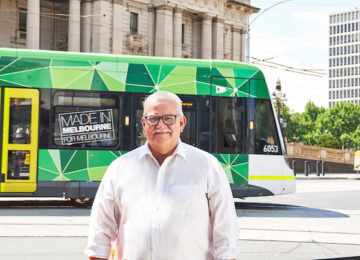 Expansion of free tram zone and free transport for students and seniors