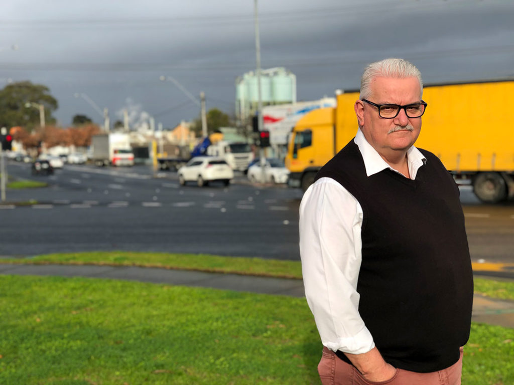 Rod Barton MP - Bulleen Industrial Zone - North East Link - Melbourne