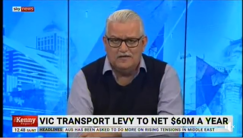 Rod chats with Chris Kenny at Sky News Australia about the $1 Levy on taxi and rideshare, safety and his private members bill to stop touting.