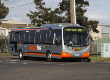 CS – SMARTbuses on suburban rail loop route