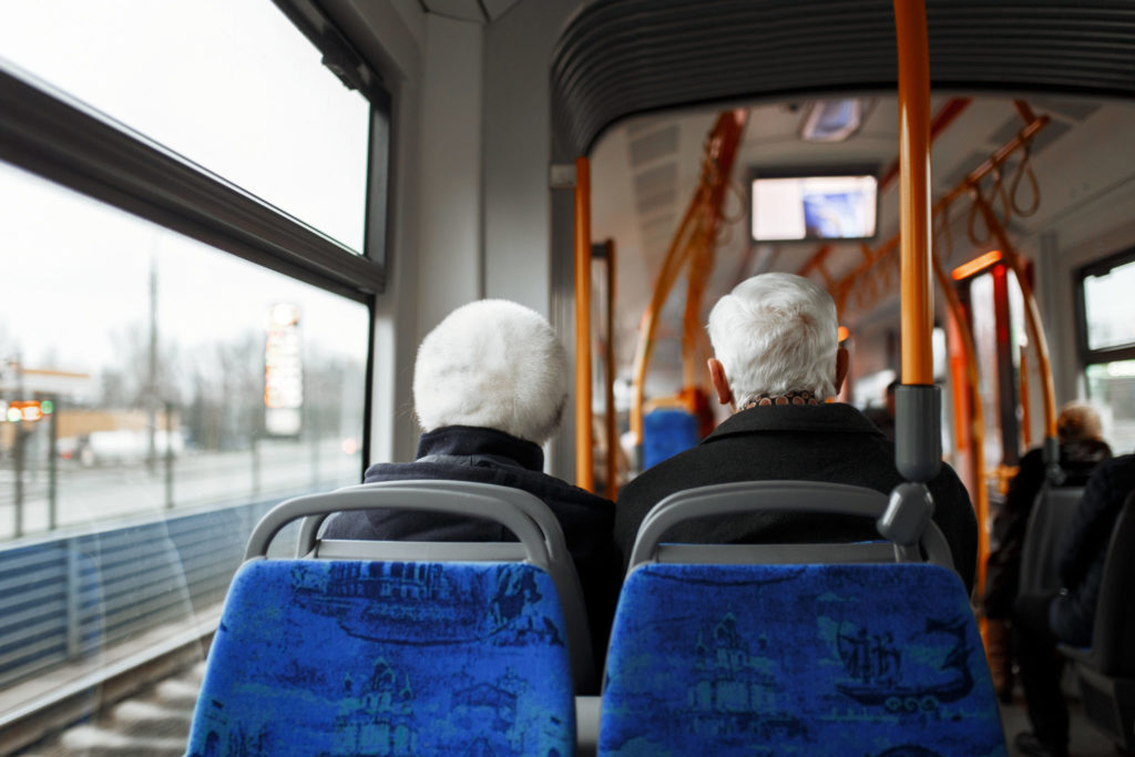Free public transport for seniors