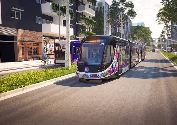 Trackless trams for Doncaster Rail