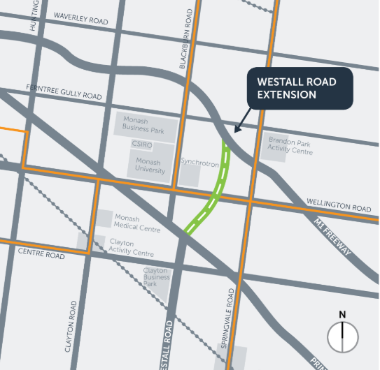CONSTITUENCY QUESTION – Westall Road Extension