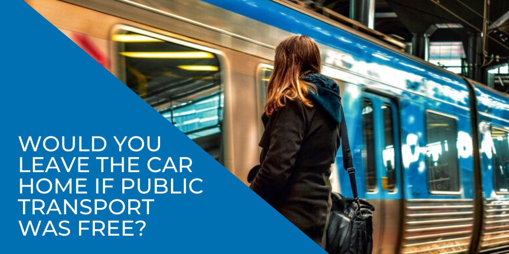 would you leave the car home if Melbourne's public transport was free?