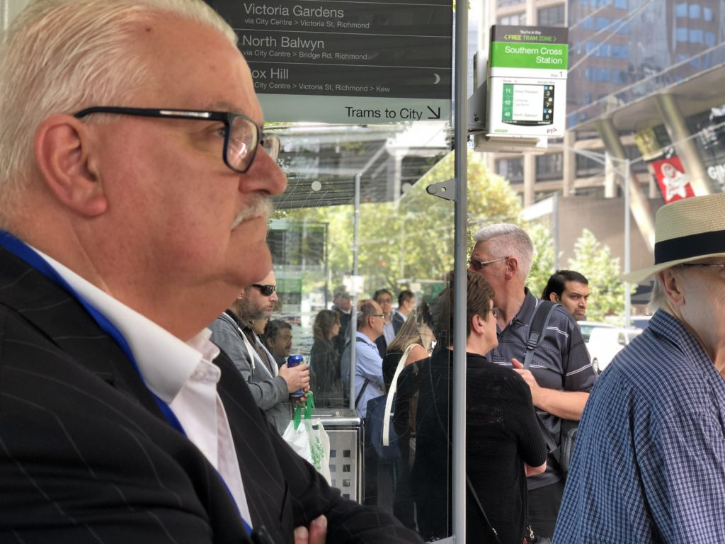 Rod Barton vision for Melbourne's public transport network