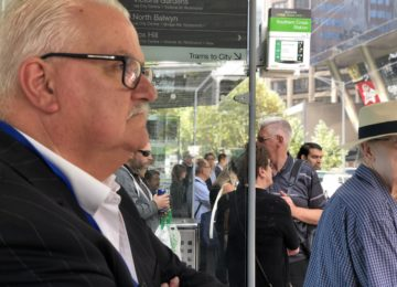 Barton hits back at free tram critics