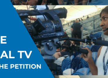 PETITION – Ongoing licence for community television