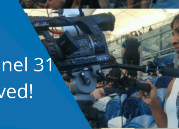 A lifeline for Community Television – Channel 31 Saved!