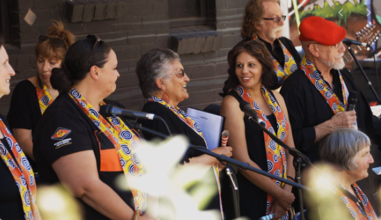 We were contacted by the Yeng Gali Mullum choir, a reconciliation choir that was started by the elders in 2014 at the Mullum Mullum Indigenous Gathering Place in Melbourne's outer east.