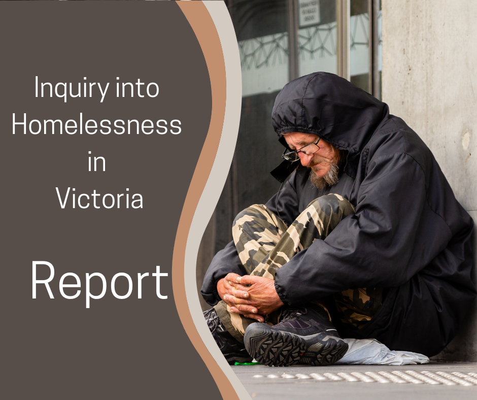 Media Release –  Time for Action: Homelessness Report Provides Practical Recommendations
