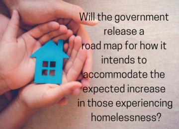 Adjournment – Homelessness