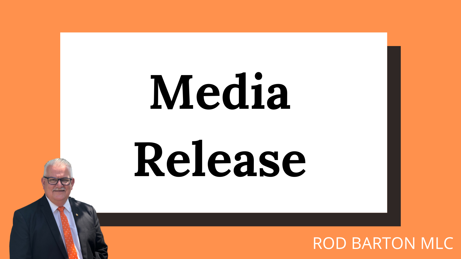 Media Release – Rod Barton MP Condemns Greens Motion on the Group Voting Ticket 'Laughable' and 'Hypocritical'
