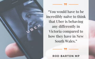 Media Release – Uber fails to report sexual assaults to NSW authorities, what's happening here in Victoria?