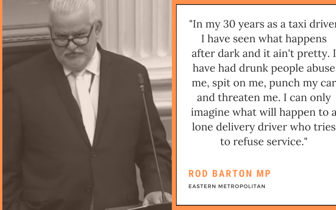 Vulnerable workers will now be responsible for the delivery of alcohol as liquor sales and family violence rates skyrocket