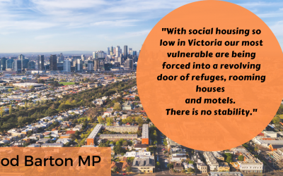 Infrastructure Victoria Recommends Social Housing Growth Target