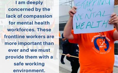 Mental Health Workforce in Crisis