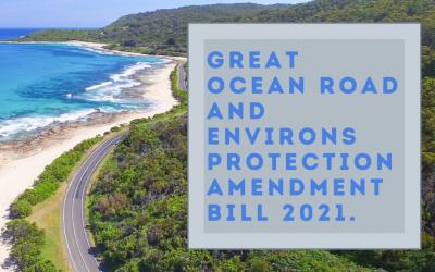 Great Ocean Road and Environs Protection Amendment Bill 2021.