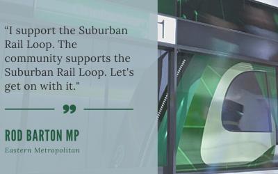 'Melbourne's eastern suburbs want the Suburban Rail Loop and so do I'